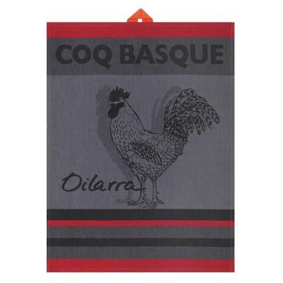 Essuie-mains Arnaga Coq Basque - Jean-Vier