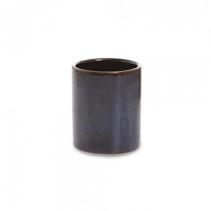 tasse caf mauleon bleu cr ations jean vier. Black Bedroom Furniture Sets. Home Design Ideas