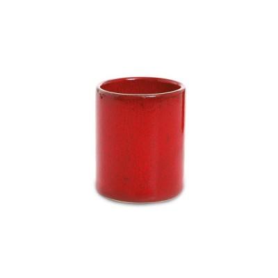 Tasse à café Mauleon Rouge Feu - Jean-Vier