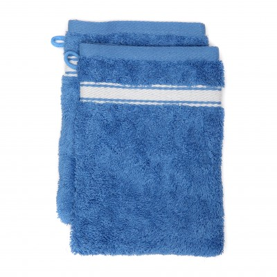 Lot de deux gants Grand hotel Bleuet Inversé - Jean-Vier