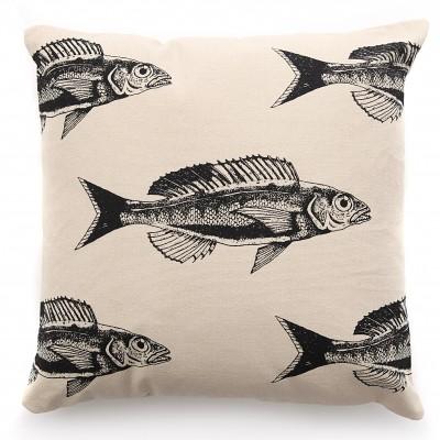 Housse de coussin Fish by Coffee Paper - Jean-Vier