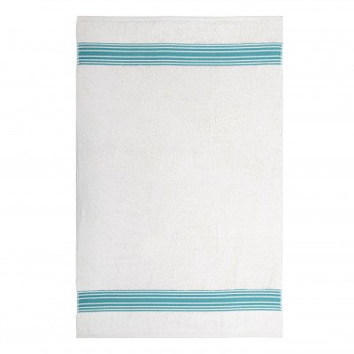 Shower towel Grand Hotel Turquoise - Jean-Vier