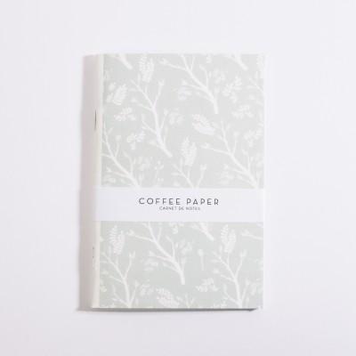 Carnet Fleurs Coffee Paper - Jean-Vier