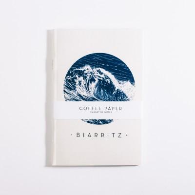 Carnet Biarritz Coffee Paper - Jean-Vier