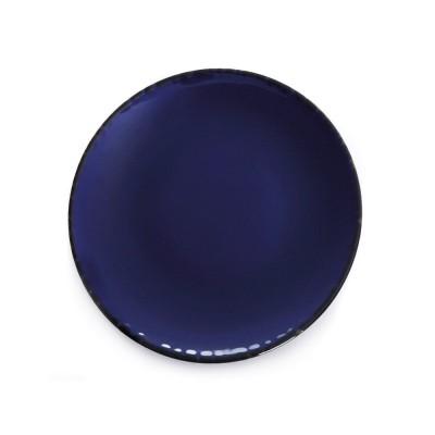 Assiette à dessert Chantaco Bleu - Jean-Vier