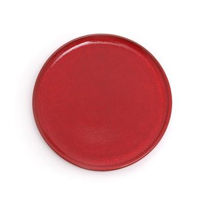 Plato de Postre Mauléon Rouge feu - Jean-Vier