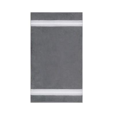 Guest towel Grand Hôtel Gris Lapin inversé - Jean-Vier