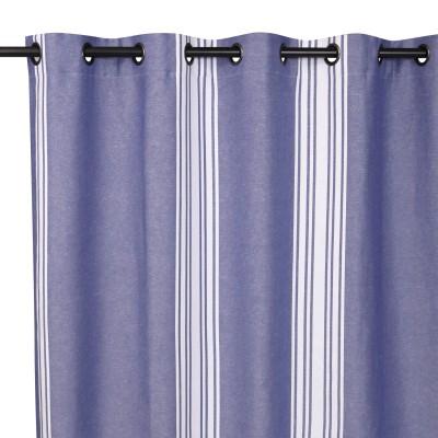 Saint-Jean-De-Luz Littoral Curtain Cotton and linen