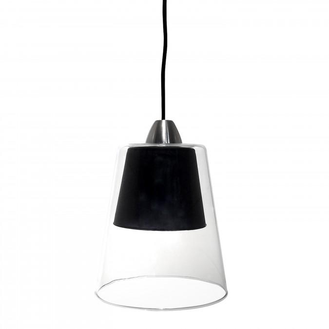 Luminaire Suspension Layer Noir - Jean-Vier