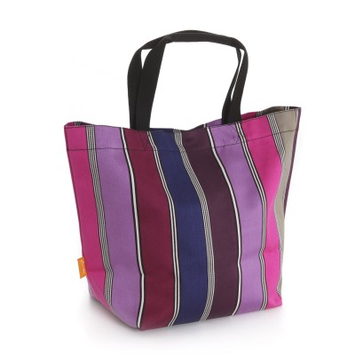 Shopping Bag Bidarray Lilas - Jean-Vier