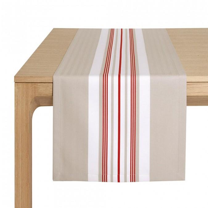 Tischläufer Donibane Fraise - Jean-Vier