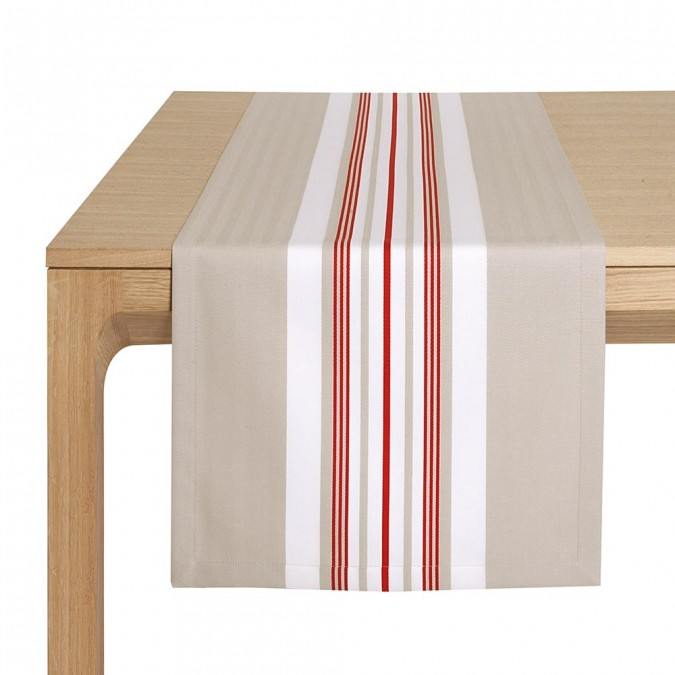 Table Runner Donibane Fraise - Jean-Vier