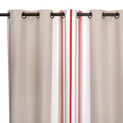 Cortinas Donibane Fraise - Jean-Vier