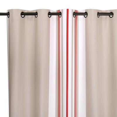 Curtain Donibane Fraise - Jean-Vier