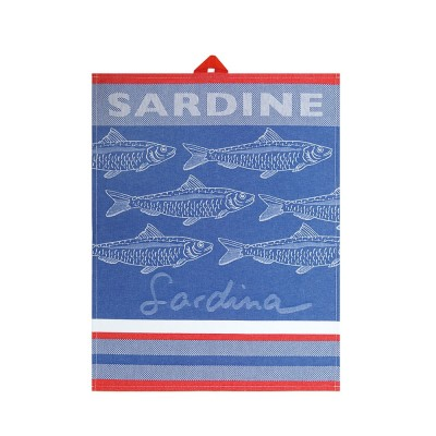 Toalha de mão Arnaga Sardine Bleu - Jean-Vier