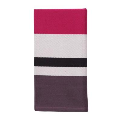 Striped napkin Pampelune Grand Soir - Jean-Vier