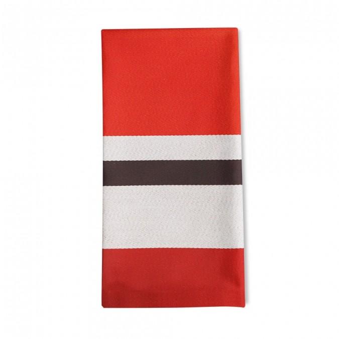 Striped napkin Pampelune Tapas - Jean-Vier