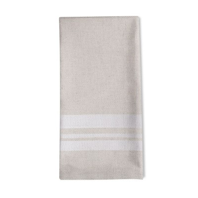 Striped napkin Saint-Jean-de-Luz Blanc