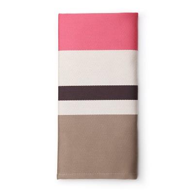 Striped napkin Pampelune Boisderose - Jean-Vier