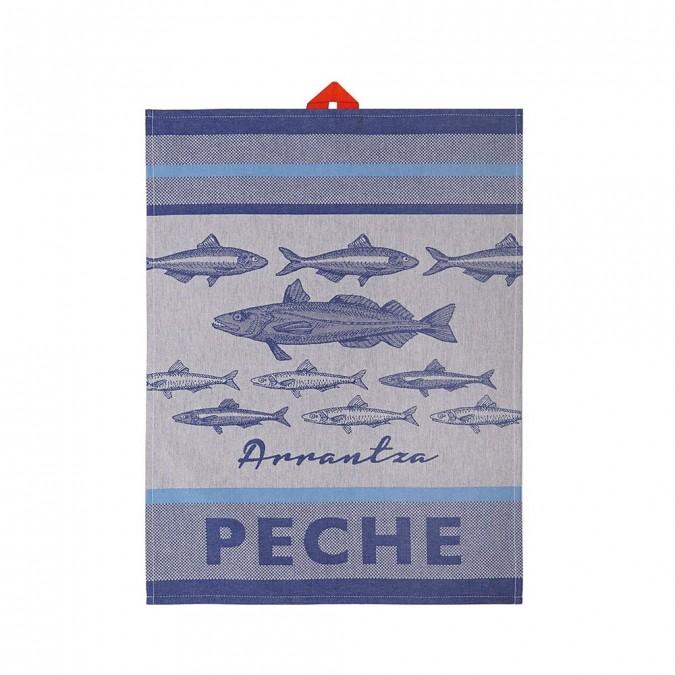 Essuie-mains Arnaga Pêche Basque - Jean-Vier