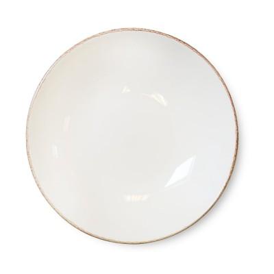 Assiette creuse Chantaco Ecru - Jean-Vier