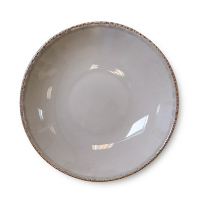Soup plate Chantaco Taupe - Jean-Vier