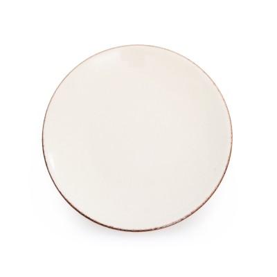 Dessert plate Chantaco Ecru