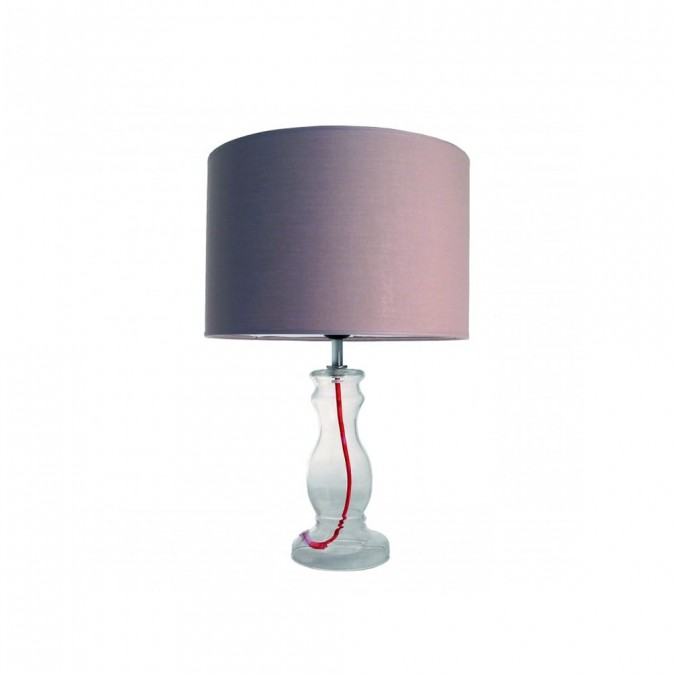 Luminaire Lampe Baroque Taupe  - Jean-Vier