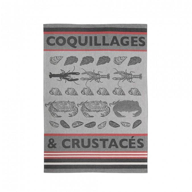Kitchen towel Arnaga Crustacé - Jean-Vier