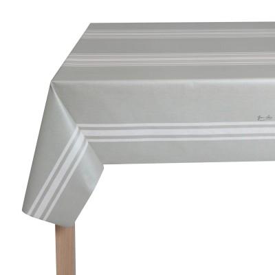 Toile cirée Ciboure Blanc - Jean-Vier
