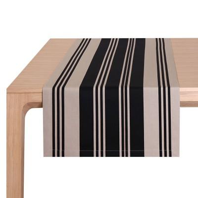 Table Runner Maia Noir - Jean-Vier
