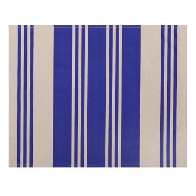 Set de table enduit Maia Bleu - Jean-Vier