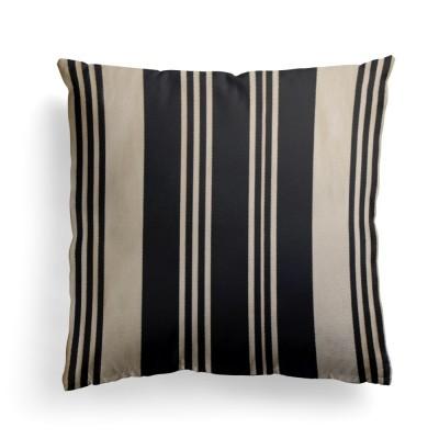 Cushion cover Maia Noir - Jean-Vier