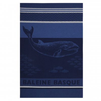 Kitchen towel Arnaga Baleine Basque - Jean-Vier