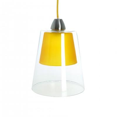 Luminaire Suspension Layer Jaune - Jean-Vier