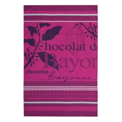Jacquard zatara Arnaga Chocolat de Bayonne - Jean-Vier