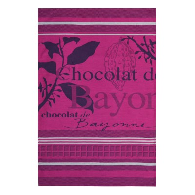 Pano de prato Arnaga Chocolat de Bayonne - Jean-Vier
