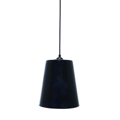 Luminaire Suspension Conique Noir