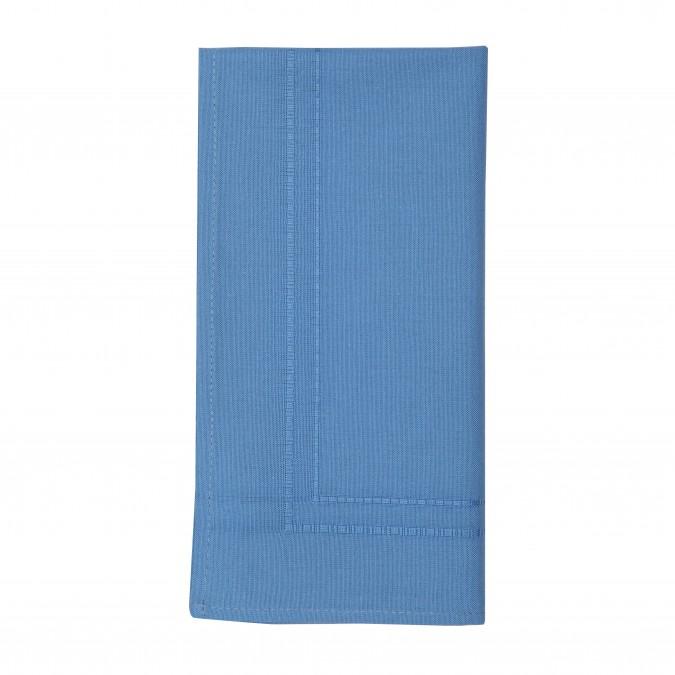 Serviette Unie Ostadar Bleuet - Jean-Vier