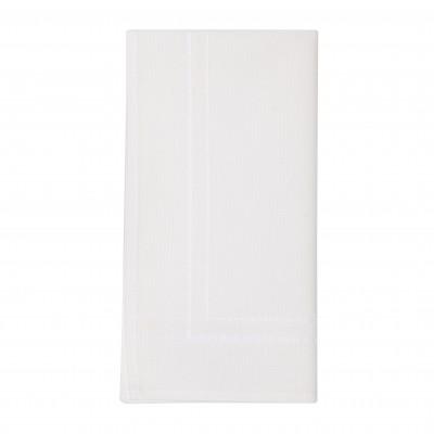 Plain Napkin Ostadar Blanc - Jean-Vier