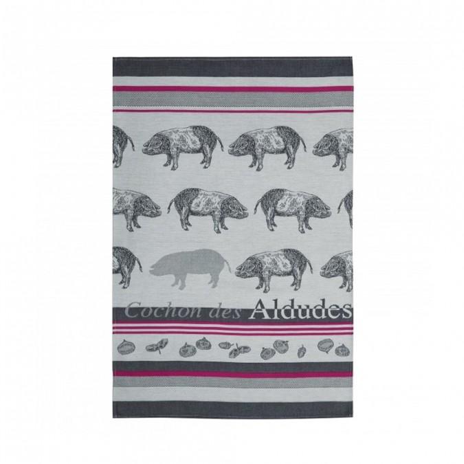 Kitchen towel Arnaga Cochon des Aldudes - Jean-Vier