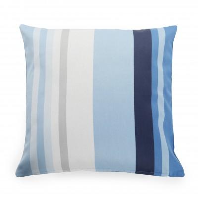 Cushion cover Pampelune Aqua - Jean-Vier