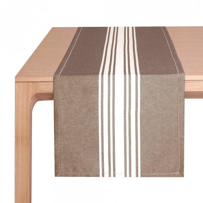 Tischläufer St-Jean-de-Luz Ecorce - Jean-Vier