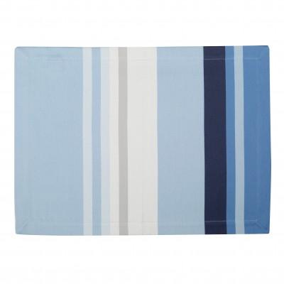 Tischset Pampelune Aqua - Jean-Vier