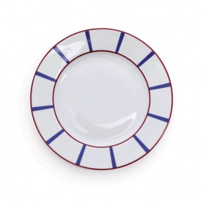 Plato de Postre Rouge-Bleu - Jean-Vier