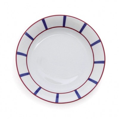 Deep Plate Amatxi Red-Blue