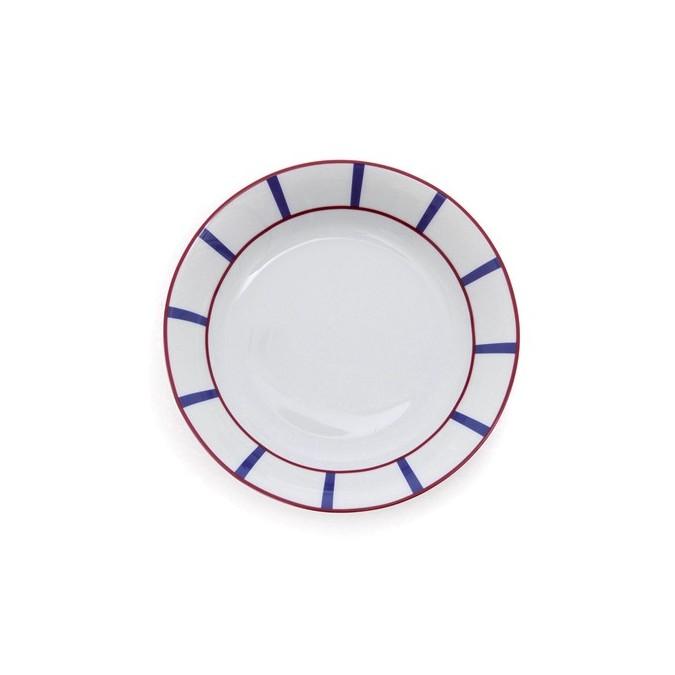 Deep Plate Amatxi Red-Blue  - Jean-Vier
