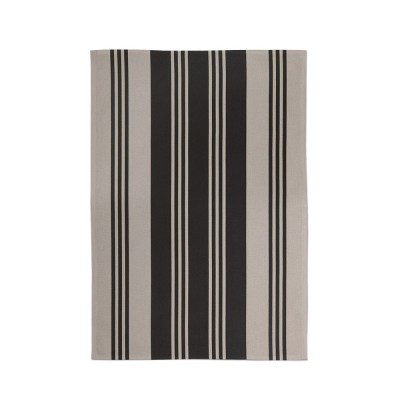Kitchen towel Maia Noir - Jean-Vier