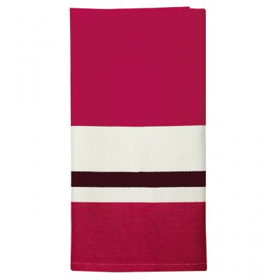 Striped napkin Pampelune Grand Cru - Jean-Vier