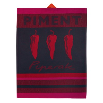 Hand towel Arnaga Piments - Jean-Vier